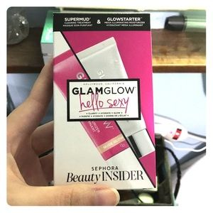 Glamglow mask and moisturizer duo sample pack